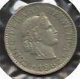Buy Switzerland 10 Rappen 1962