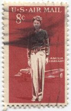 Buy 1963 8c Amelia Earhart US Air Mail Stamp Used Cancelled Good Topical Stamp