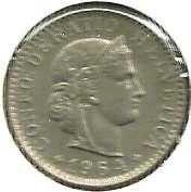 Buy Switzerland 20 Rappen 1964