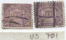Buy 1931 50 Cents Arlington Amphitheatre Violet Pair Good Used Stamps