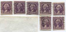 Buy 1932 3c Washington 5 #721 and 2 oddballs used good Lot Take a Look!