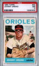 Buy 1964 Topps #63 Johnny Orsino Baltimore Orioles PSA NM 7