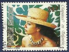 Buy FRENCH POLYNESIA - Woman with Hat 1