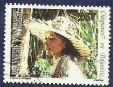 Buy FRENCH POLYNESIA - Woman with Hat 2