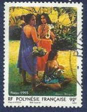 Buy FRENCH POLYNESIA 1995 - Women of Polynesia 1
