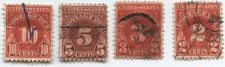 Buy 1931 2c, 3c, 5c, and 10c Postage Due Stamps!!! Get them all at once and save!
