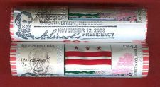 Buy 2009-P LP4 PRESIDENCY FIRST DAY ROLL. WITH POST OFFICE SPECIAL CANCELLATION.