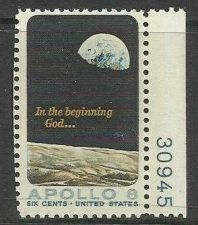 Buy US APOLLO 8 MOON ORBIT #1371 USED 6c