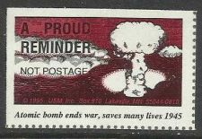 Buy US US Atomic Bomb 1945 - USM, Inc WWII Not Postage