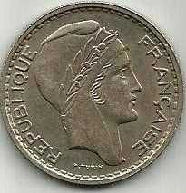 Buy France 10 Francs 1949 Mint Paris w/o Mint Mark