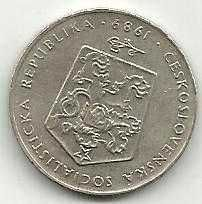 Buy CZECHOSLOVAKIA 1989 Two (2) Korun Coin