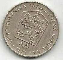 Buy CZECHOSLOVAKIA 1981 Two (2) Korun Coin