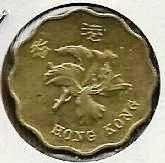 Buy 1995 Hong Kong 20 Cents Wavy edge coin Bauhinia blakeana series