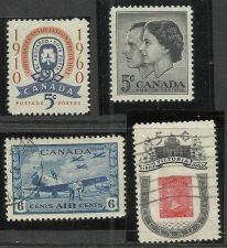 Buy Canadian Mix 2 - Lot of 4 Stamps