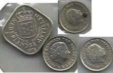 Buy Netherlands Lot of 4 Coins 5c 10c 25c