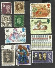 Buy British Lot 4 - Lot of 11 Stamps including George VI, Queen Elizabeth