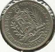 Buy 1967 VENEZUELA Coin 1 Bolivar