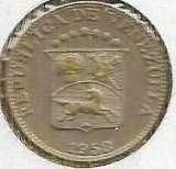 Buy 1958 VENEZUELA Coin 5 Centimos