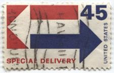 Buy 1969 Special Delivery 45 Cents Cancelled Honolulu, Hawaii Nice Used Off-Paper
