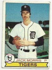 Buy 1979 Topps : Jack Morris #251 Detoit Tigers TOPPS