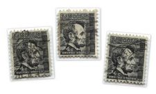 Buy 1965 4c Abraham Lincoln Black Cabin US Postage Used Stamps set of 3