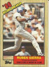 Buy 1987 Topps #6 Ruben Sierra RB Rangers