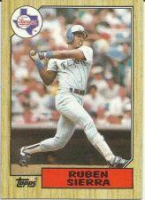 Buy 1987 Topps #261 Ruben Sierra RC