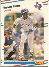 Buy 1988 Fleer #479 Ruben Sierra Rangers