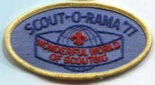Buy 1977 Crater Lake Council Scout-o-Rama Patch Wonderful World of Scouting