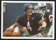 Buy 1995 COLLECTORS CHOICE STEVE WALSH PLAYERS CLUB PARALLEL CARD #183 BEARS