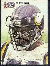 Buy Chris Doleman - Vikings 1991 - Official Photo and Stat Card of the NFL