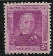 Buy US 988 Mint NH VF 3 Cent Samuel Gompers