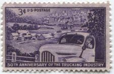Buy 1953 3c 50th Anniversary of the Trucking Industry Unused Great Old Stamp Buy It
