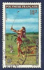 Buy FRENCH POLYNESIA - Woman with Golf D'Atimaona 1