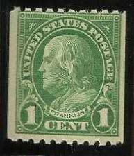 Buy Scott #604 Franklin 1c - 1924