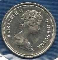 Buy Canada 1985 25 Cents (Canadian Caribou Quarter)