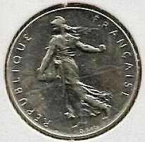Buy 1971 France 1 Franc Coin