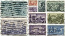 Buy 1950's 3c State Centennial Used Stamps Lot all good used cancelled nice BUY NOW!