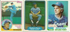 Buy Gaylord Perry Tribute Lot of 3 Trading Cards
