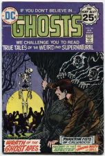 Buy GHOSTS Issue #34 Jan. 1975 Good Condition DC Super-Stars 30512 Very Best 25c
