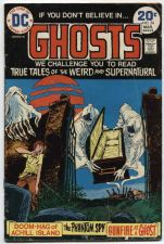 Buy GHOSTS Issue #24 March 1974 Good Condition DC Classic Early Dog Eared