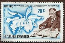 Buy POST STAMP RWANDA REPUBLIQUE RWANDAISE 20 FRANKLIN D ROOSEVELT