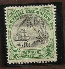 Buy 1932 Cook Island - 1/2 Penny ** MINT ** Stamp