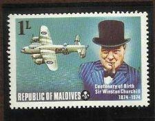 Buy Maldive Is.1974 CENTENARY OF BIRTH CHURCHILL SG535 MNH