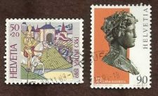 Buy Switzerland 1997 Archaeology Art & PRO PATRA 1989