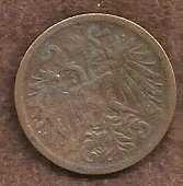 Buy Austria 2 Hellar 1895