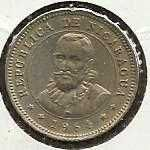 Buy Nicaragua 5 Centavos 1964 Mountains Sunrise