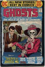 Buy GHOSTS Issue #6 Aug. 1972 Very Good Condition DC Classic Rare First Comic 20c