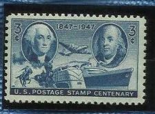 Buy US Postage Stamp Centenary 3c 1947 Sc# 947