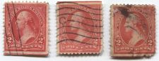 Buy 1894 Washington 2 cents Stamps Lines thru Sheet Edge Upper and Lower Used
